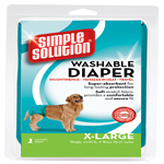 Simple Solution Washable Diaper Blue 1ea/Extra-Large