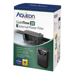 Aqueon QuietFlow E Internal Power Filter 1ea/Medium - 20 gal