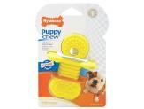 Nylabone Puppy Rubber Teethers Vanilla Flavor 1ea/Small/Regular - Up To 25 lb