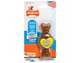 Nylabone Puppy Chew Ring Bone Chicken Flavor 1ea/X-Small/Petite - Up To 15 lb