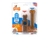 Nylabone Just for Puppies Teething Chew Ring Bone & Toy Flavor Medley & Chicken Flavor 1ea/X-Small/Petite - Up To 15 lb