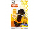 Nylabone Flavor Frenzy Strong Chew Toy Dog Toy Bacon & Cheeseburger Flavor 1ea/Small/Regular - Up To 25 lb