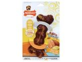 Nylabone Flavor Frenzy Food Icon Bone Baked Ham/Cheesy Potato Wolf