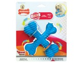 Nylabone Power Chew X-Shaped Dog Bone Chew Toy Beef Flavor 1ea/Large/Giant - Up To 50 lb