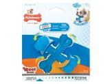 Nylabone Puppy Chew X Bone Chew Toy Beef Flavor 1ea/Small/Regular - Up To 25 lb