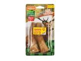Nylabone Healthy Edibles WILD Antler Natural Long Lasting Turkey Flavor Dog Chew Treats 2 count 1ea/Medium - Up To 35 lb