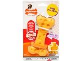 Nylabone DuraChew Cheese Bone Cheese Flavor 1ea/Medium/Wolf - Up To 35 lb