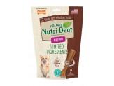 Nylabone Nutri Dent Natural Dental Filet Mignon Flavored Chew Treats 7 count 1ea/Medium - Up To 30 lb