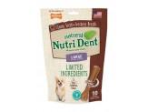 Nylabone Nutri Dent Natural Dental Filet Mignon Flavored Chew Treats 10 count 1ea/Large - Up To 50 lb