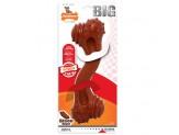 Nylabone Power Chew Monster Curve Bone Big Dog Chew Toy Bison Flavor 1ea/XX-Large/Monster - 50+ lb