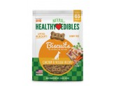Nylabone Healthy Edibles Biscuits Grain Free Dog Treats Chicken & Veggie Flavor 1ea/12 oz