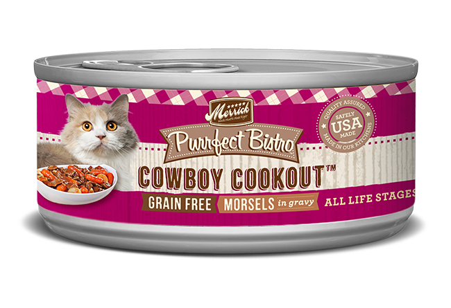 Merrick Cat Purrfect Bistro Cowboy Cookout 5.5Oz
