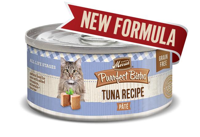 Merrick Cat Purrfect Bistro Tuna Pate 5.5 oz.(Case Of 24)