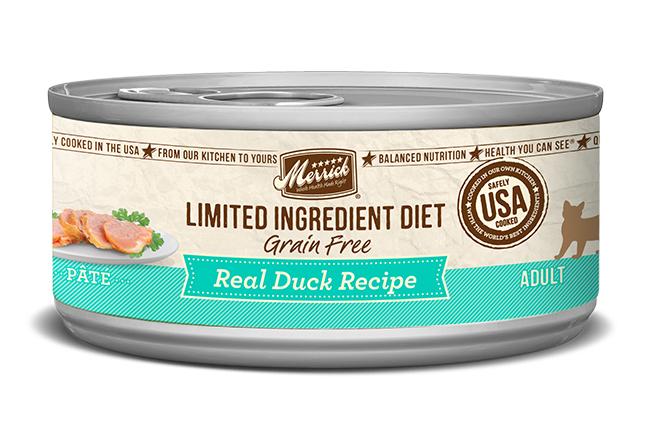 Merrick Cat Limited Ingredient Diet Duck 5 oz. (24 Pack)