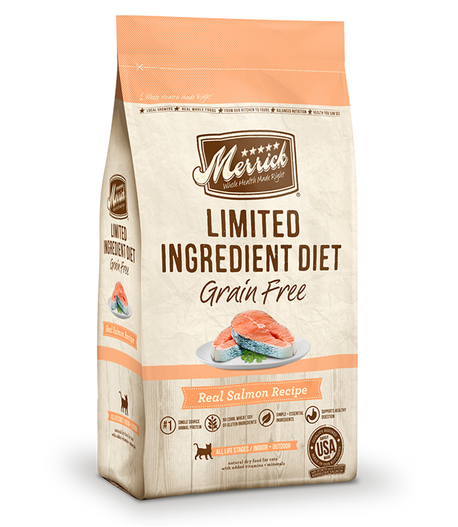 Merrick Limited Ingredient Diet Grain Free Real Salmon Recipe 4LB