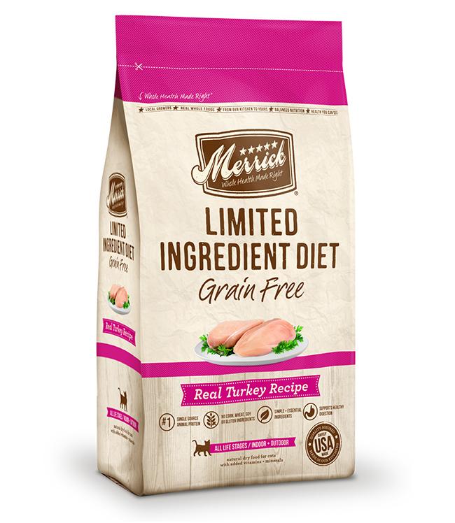 Merrick Limited Ingredient Diet Grain Free Real Turkey Recipe 7LB