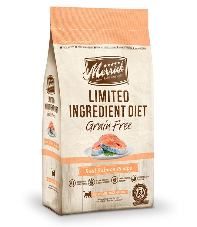 Merrick Limited Ingredient Diet Grain Free Real Salmon Recipe 7LB