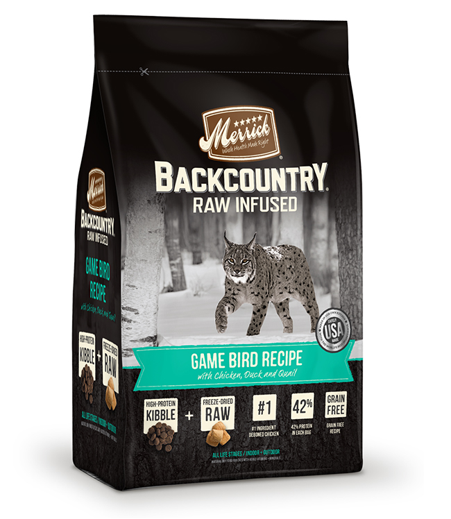 Merrick Backcountry Raw Infused Game Bird Recipe 6LB