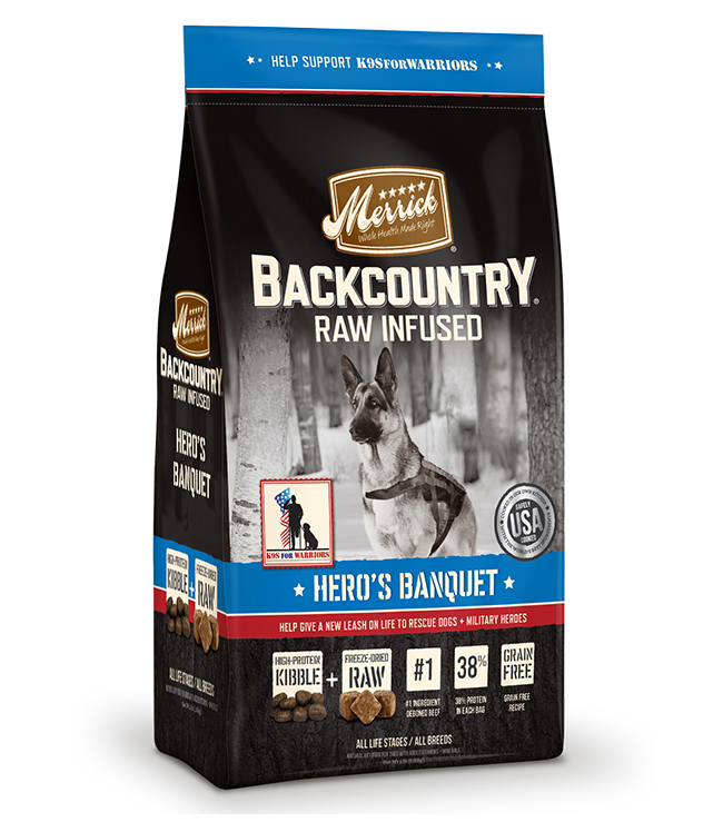 Merrick Backcountry Raw Infused Hero's Banquet 12LB