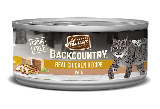 Merrick Cat Backcountry Chicken Pate 5.5 oz. (24 Pack)