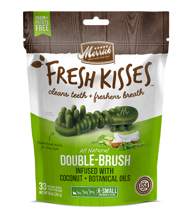 Merrick Fresh Kisses Coconut Oil For Extra Small Dogs (7-17 lbs) 12OZ