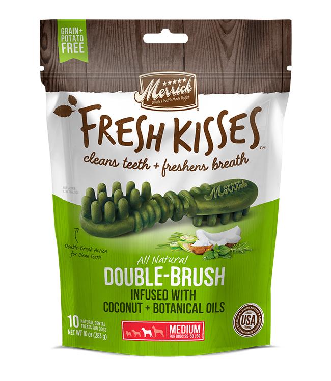 Merrick Fresh Kisses Coconut Oil For Medium Dogs (30-70 lbs) 12OZ