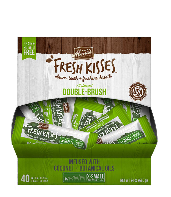 Merrick Fresh Kisses Coconut Oil For Extra Small Dogs (7-17 Lbs)