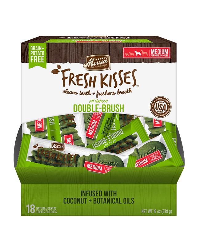 Merrick Fresh Kisses Coconut Oil For Medium Dogs (30-70 Lbs)