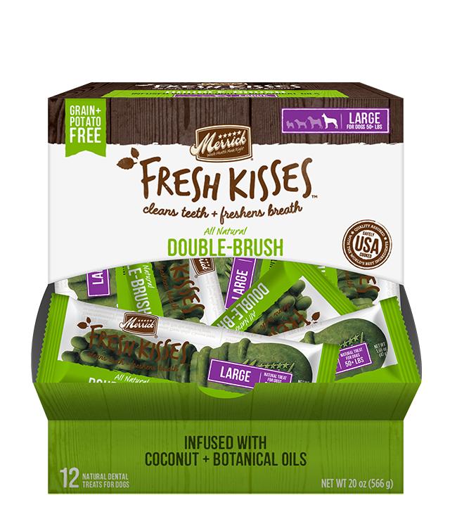Merrick Fresh Kisses Coconut Oil For Large Dogs (70+ lbs)