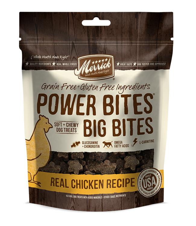 Merrick Big Bites Real Chicken Recipe 6OZ