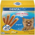 Pedigree DENTASTIX Chicken Flavor Dog Dental Treat 1ea/13.97 oz, 58 ct, Mini