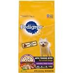 PEDIGREE Tender Bites Chicken and Steak Small Dog Dry Food 3.5lb