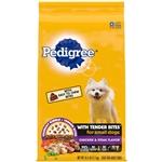 Pedigree Tender Bites Chicken and Steak Small Dry Dog Food 1ea/15.9 lb
