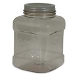 Petmate Mason Style Pet Treat Jar Silver 1ea/One Size