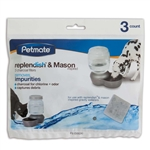 Petmate Replendish Charcoal Filter Tray Grey 1ea/3 pk