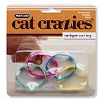 Fat Cat Crazies Playrings Bracelets FarFelus Cat Toy  ()