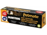 Petmate Hi Back Pan Drawstring Liners 8Ct Jumbo
