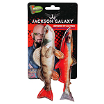 Jackson Galaxy Marinater Toy Photo Fish 2Pk