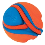 Chuckit! Rope Fetch Rope with Ball Orange 22.5 in,