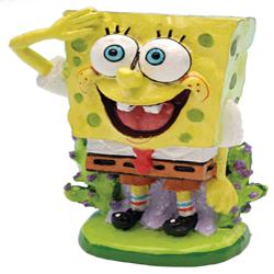 SpongeBob Square Pants Aquarium Ornament Spongebob Multi-Color 1ea/2 in, Mini