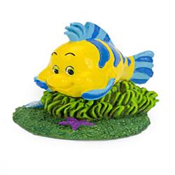Disney Flounder Aquarium Statue Multi-Color 1ea/Mini