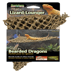 Penn-Plax Corner Lizard Lounger Climbing & Resting Mat Brown 1ea/15 In X 8 in, Small