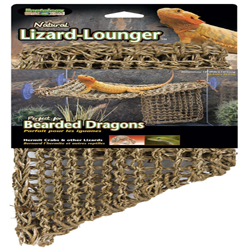 Penn-Plax Corner Lizard Lounger Climbing & Resting Mat Brown 1ea/17 In X 10 in, Large