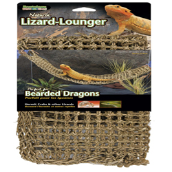 Penn-Plax Corner Lizard Lounger Climbing & Resting Mat Brown 1ea/29 In X 7 in, Extra-Large
