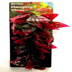 Penn-Plax Reptile Vine Green, Red 1ea/12 in