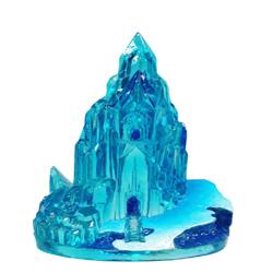 Disney Frozen Ice Castle Resin Ornament Blue 1ea/2.5 in, Mini