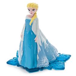 Disney Frozen Elsa Resin Ornament Blue, White 1ea/2.5 in, Mini