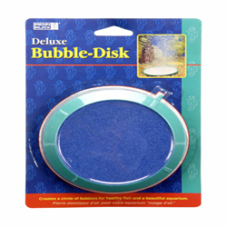 Penn-Plax Deluxe Bubble-Disk Air Stone Green, Blue 1ea/5 in, Large
