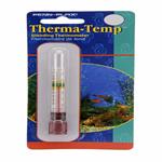 Penn-Plax Therma-Temp Standing Aquarium Thermometer Clear 1ea/4.25 in