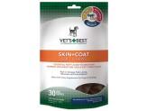 Vet's Best Skin & Coat Soft Chews 1ea/4.2 oz, 30 ct